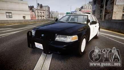 Ford Crown Victoria 2011 LAPD [ELS] rims1 para GTA 4