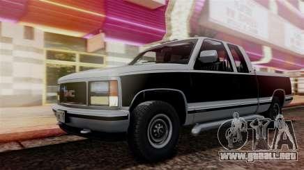 GMC Sierra 2500 Extended Cab 1992 para GTA San Andreas