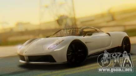 GTA 5 Pegassi Osiris IVF para GTA San Andreas