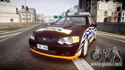 Ford Falcon BA XR8 Highway Patrol [ELS] para GTA 4