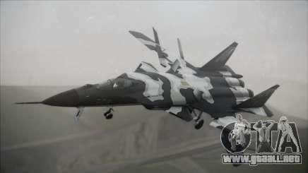 SU-47 Berkut Grabacr Ace Combat 5 para GTA San Andreas