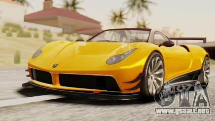 Pegassi Osyra Full Extras para GTA San Andreas