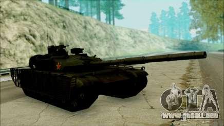 Type 99 BF4 para GTA San Andreas