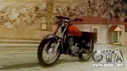 Honda CG 125 Classic para GTA San Andreas
