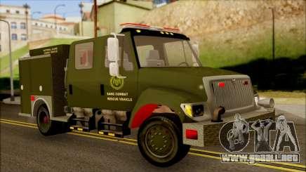 SANG Combat Rescue International para GTA San Andreas