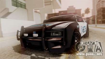 Hunter Citizen from Burnout Paradise Police SF para GTA San Andreas