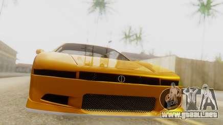 Infernus BMW Revolution with Spoiler para GTA San Andreas