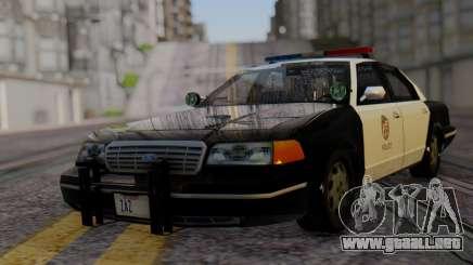 Ford Crown Victoria LSPD para GTA San Andreas