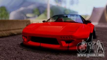 Honda NSX para GTA San Andreas