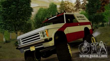 New Sandking para GTA San Andreas