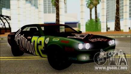 GTA 5 Bravado Gauntlet Redwood HQLM para GTA San Andreas