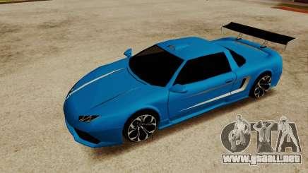 Infernus Lamborghini para GTA San Andreas