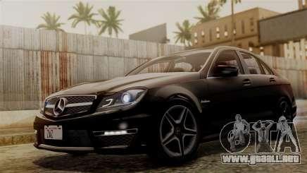 Mercedes-Benz C63 AMG 2015 Edition One para GTA San Andreas