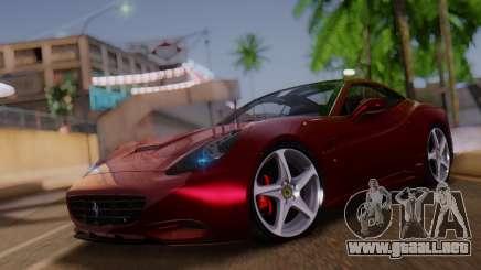 Ferrari California v2.0 para GTA San Andreas