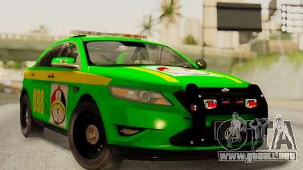 Ford Taurus Iraq Police para GTA San Andreas
