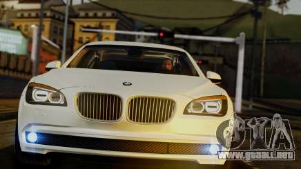 BMW 7 Series F02 2013 para GTA San Andreas