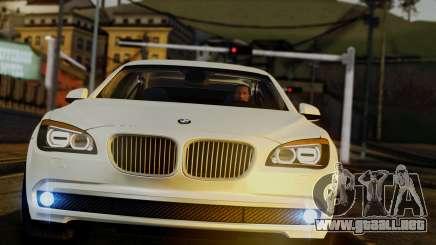 BMW 7 Series F02 2013 para GTA San Andreas