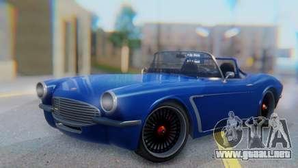 Invetero Coquette BlackFin Convertible para GTA San Andreas