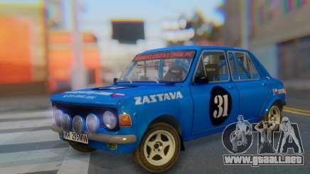 Zastava 1100P Rally para GTA San Andreas