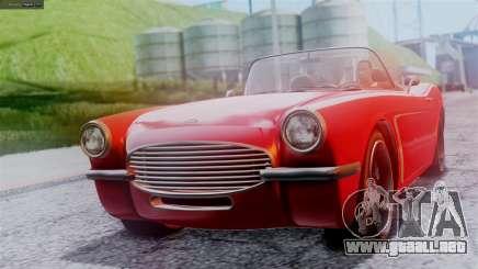GTA 5 Invetero Coquette BlackFin IVF para GTA San Andreas