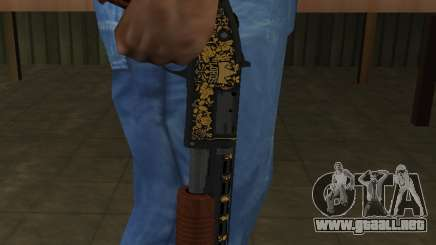 GTA 5 Sawed-Off Shotgun para GTA San Andreas