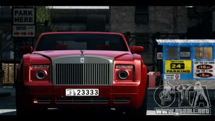 Rolls-Royce Phantom 2009 Coupe v1.0 para GTA 4