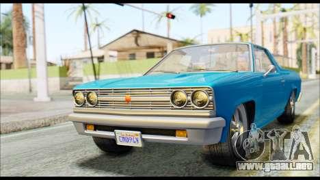 GTA 5 Cheval Picador IVF para GTA San Andreas