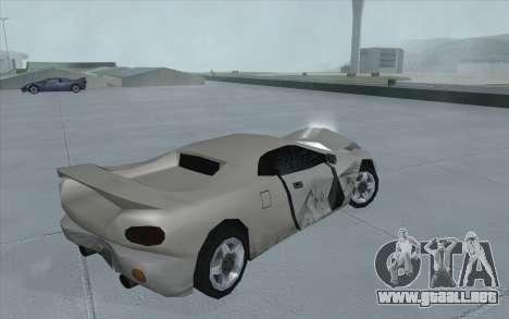 GTA 3 Infernus SA Style para la visión correcta GTA San Andreas