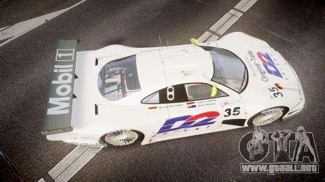 Mercedes-Benz CLK LM 1998 para GTA 4 visión correcta