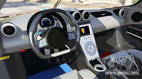 GTA 5 Koenigsegg Agera v0.8 [Early Beta] vista lateral derecha