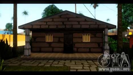 Nuevas texturas de las casas alrededor de grove  para GTA San Andreas tercera pantalla