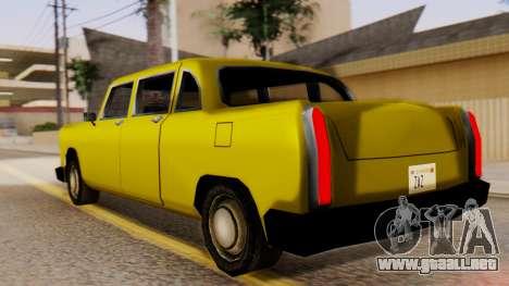 Cabbie New Edition para GTA San Andreas left