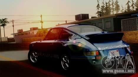 Porsche 911 Carrera RS 2.7 Sport (911) 1972 HQLM para GTA San Andreas left