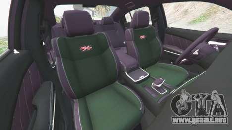 GTA 5 Dodge Charger RT 2015 v0.5 delantero derecho vista lateral