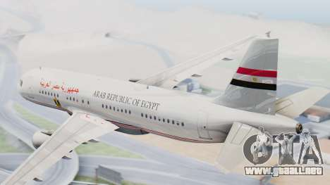 Airbus A320-200 Egyptian Air Force One para GTA San Andreas left