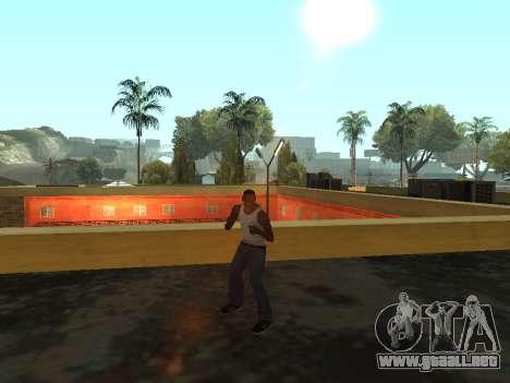 Animación de GTA Vice City para GTA San Andreas sucesivamente de pantalla
