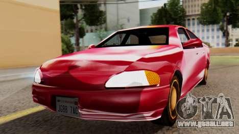 GTA 3 Kuruma SA Style para GTA San Andreas