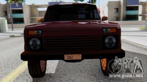 Los floreros 2121 niva SA Style para la visión correcta GTA San Andreas