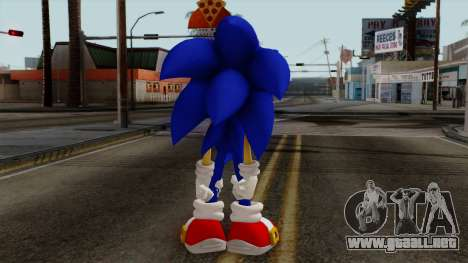 Sonic the Hedgehog HD para GTA San Andreas tercera pantalla