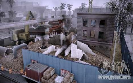 Edificio en la Calle Grove v0.1 Beta para GTA San Andreas