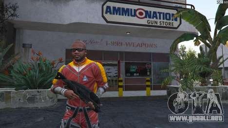 GTA 5 M-8 Avenger из de Mass Effect 2