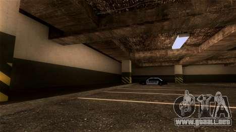 Nueva LSPD Aparcamiento para GTA San Andreas tercera pantalla