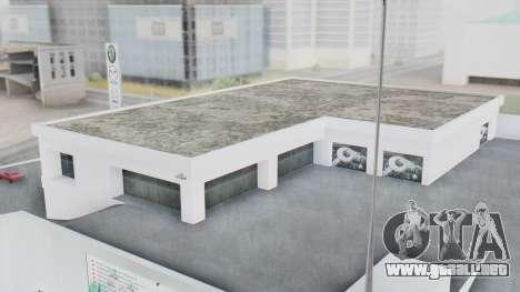El Concesionario MAGR-Auto para GTA San Andreas segunda pantalla