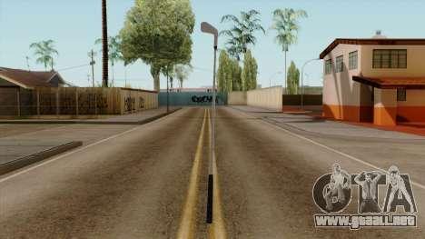 Original HD Golf Club para GTA San Andreas segunda pantalla