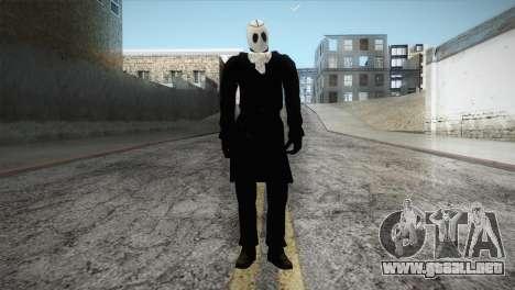 Franklyn Movie Skin para GTA San Andreas segunda pantalla
