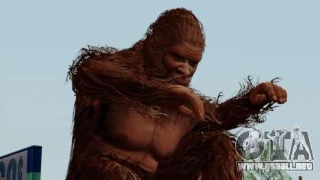 GTA 5 Bigfoot para GTA San Andreas