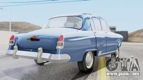 GAZ 21 Volga v1 para GTA San Andreas left