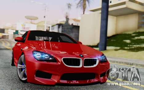 BMW M6 2013 v1.0 para GTA San Andreas