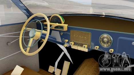 GAZ 21 Volga v1 para la visión correcta GTA San Andreas