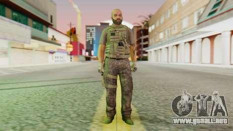 [GTA5] BlackOps2 Army Skin para GTA San Andreas segunda pantalla